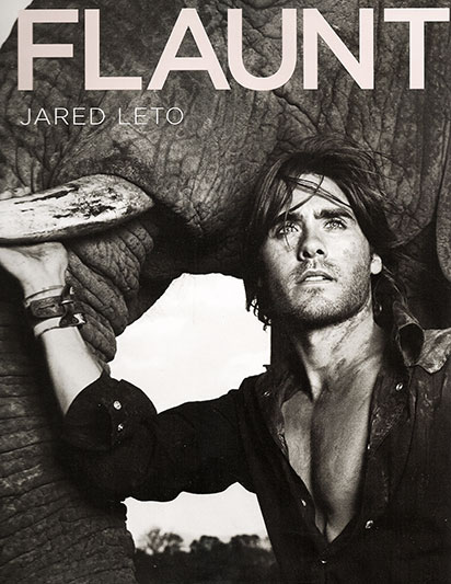 JARED LETO FOR FLAUNT
