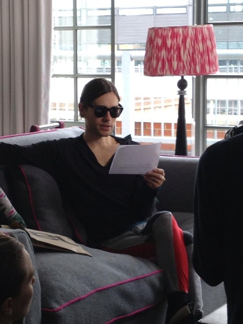 Jared Leto during pres... Jared Leto Interview