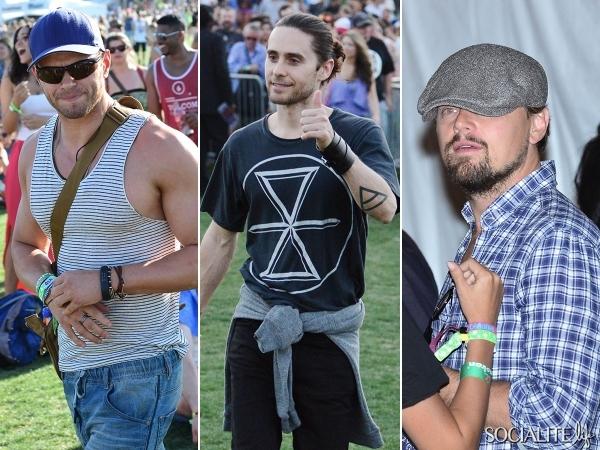 Casual Celebs [Jared Leto ]at Day One of Coachella via @socialitelife ...