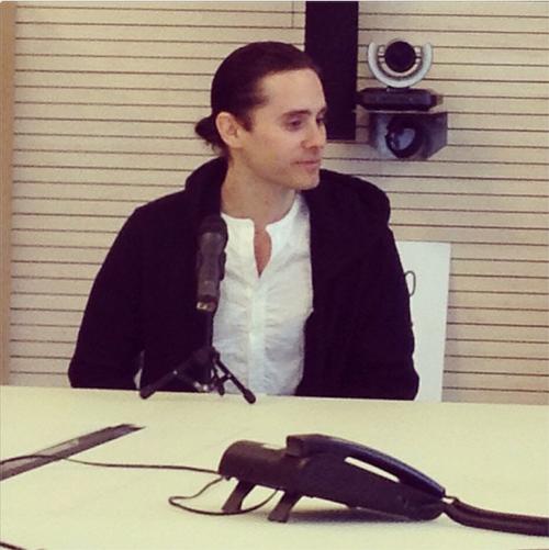 Jared Leto via Rockol.... Jared Leto Interview