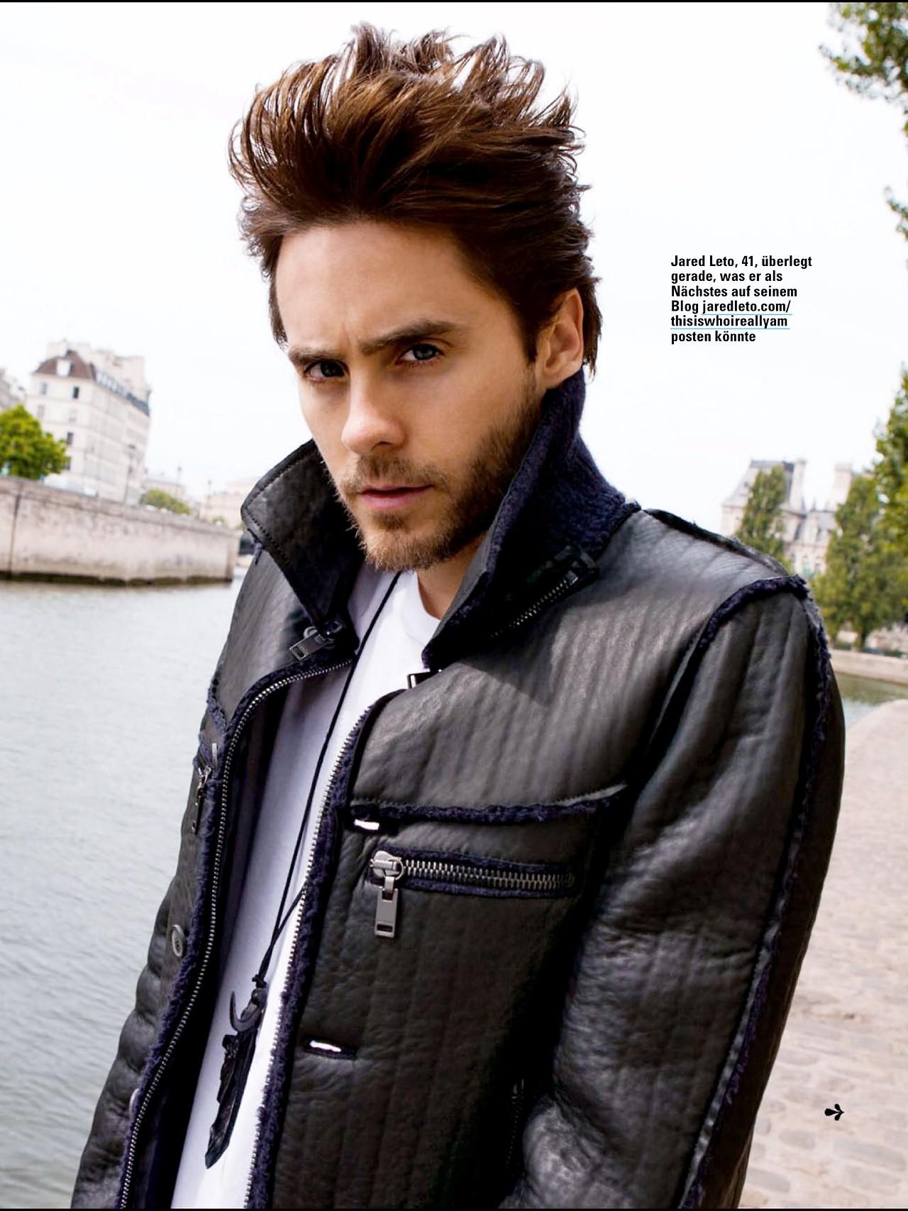 Jared Leto For Nylon Guys: Jared Leto At Glamour Magazine -Germany June 2013