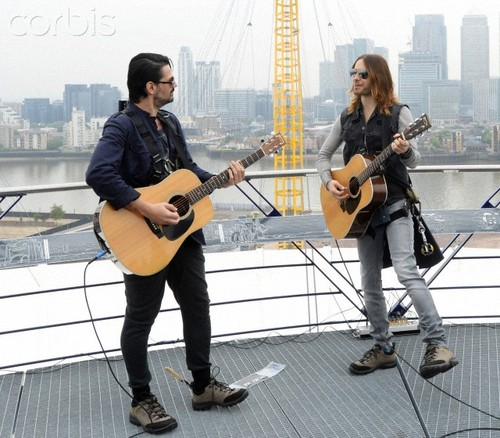 UK- Music- 30 Seconds To Mars in London