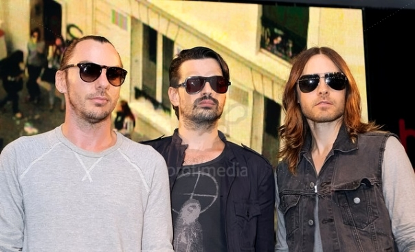 30 Seconds to Mars Album Signing - London